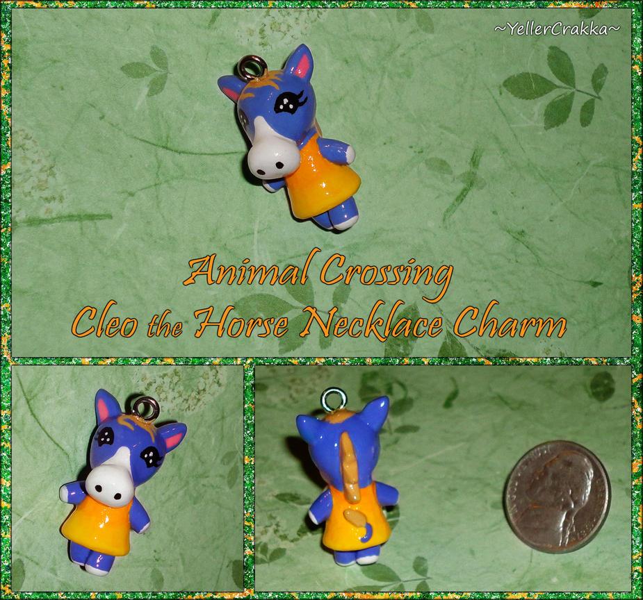 Animal Crossing - Cleo the Horse Charm - Handmade by YellerCrakka