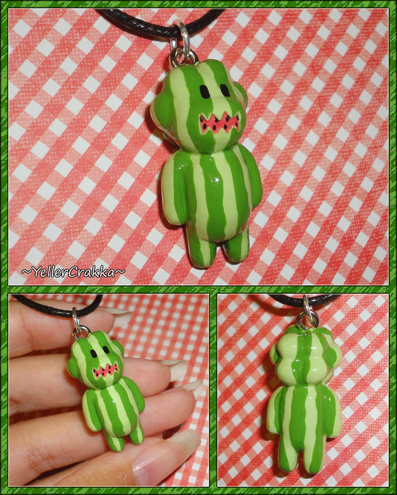 Steven Universe - Watermelon Steven Charm Necklace by YellerCrakka