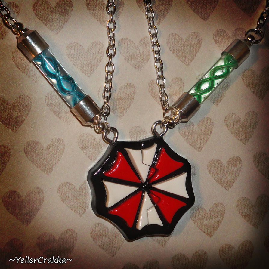 Resident Evil - Friendship Necklace Set - RE7 by YellerCrakka