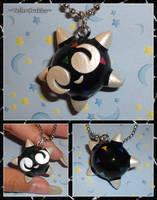Pokemon - Shiny Minior Charm Necklace by YellerCrakka