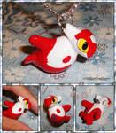 Pokemon - Latias PokeDoll Plushie Charm Necklace