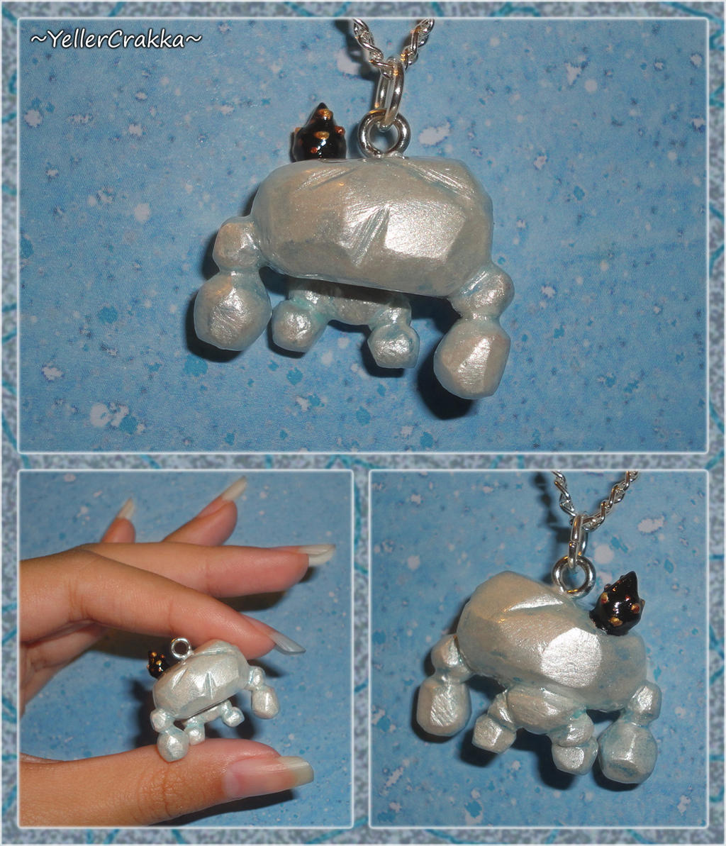 botw jewelry botw talus with ore charm by 4298