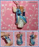 Pokemon - Dragonair Bottle Charm Necklace