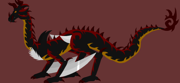 Shadow Dragon V2 Whirled Avatar(Complete) by shadowhorsegirl28