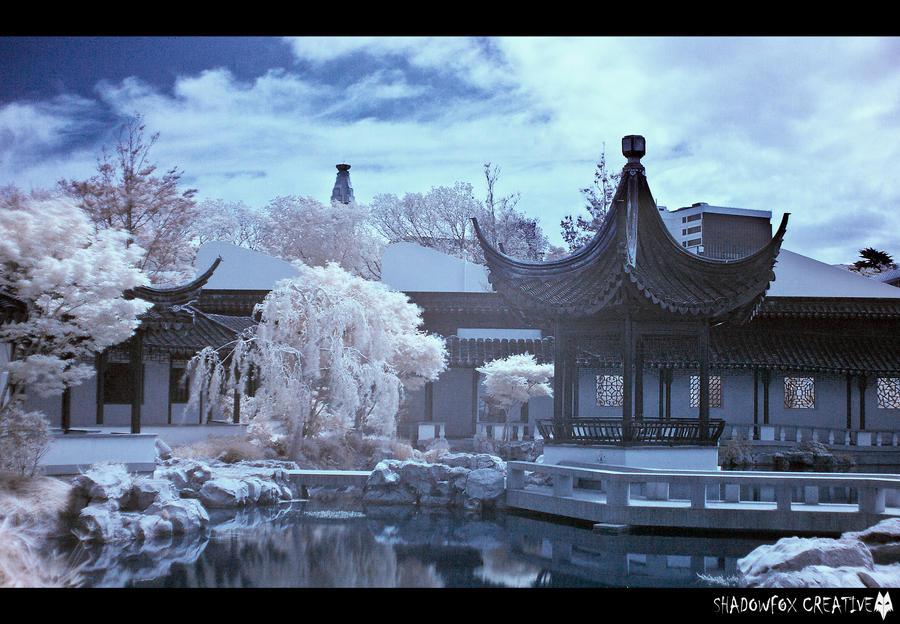 Chinese Garden IR 3 by shadowfoxcreative