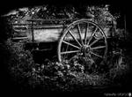 Old wagon bw by shadowfoxcreative