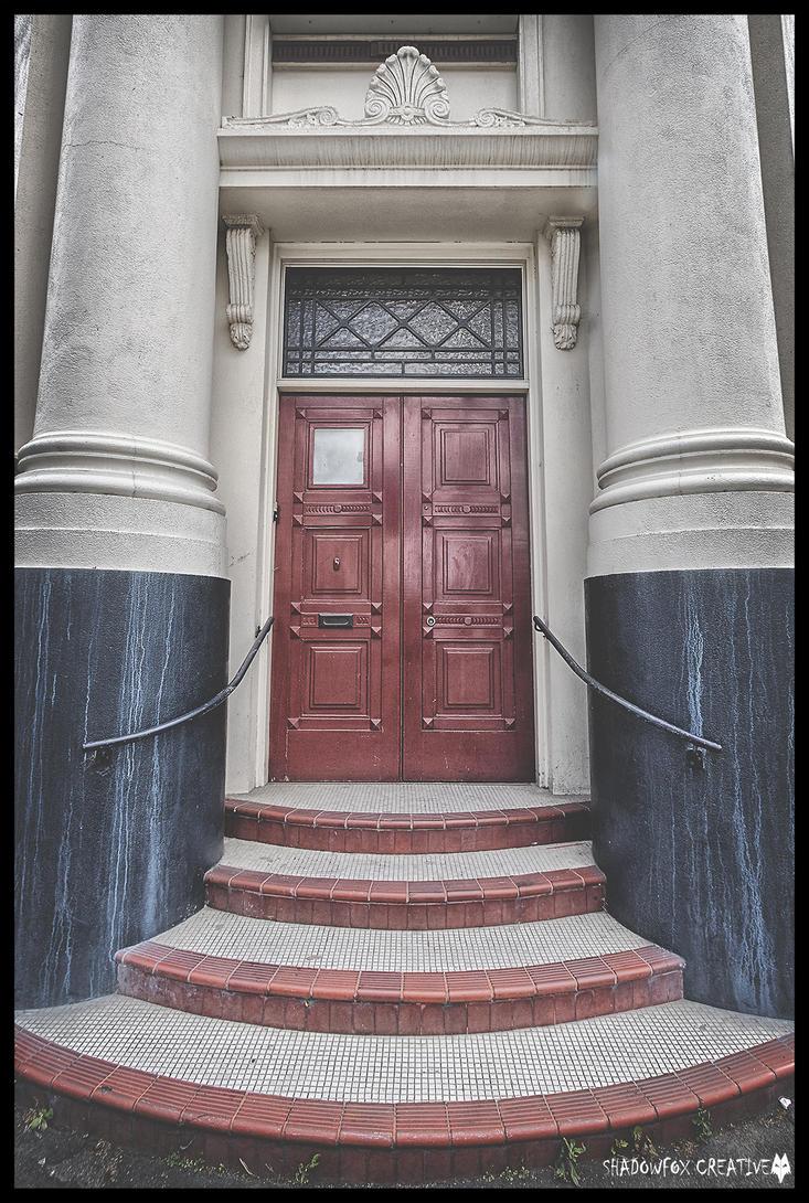 Red  door by shadowfoxcreative