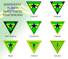 Browncoats Rank Insignias by marcpasquin