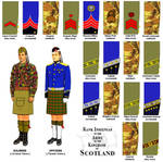 army insignias of Scotland in Ill Bethisad