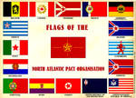 Flags of the North Atlantic Pact Organisation