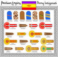 Army Insignias of the Persian Empire