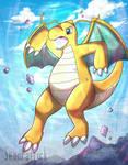 Dragonite Used Hyper Beam!!