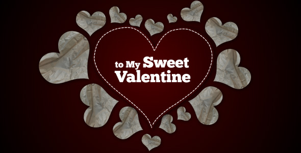 sweet Valentine - template videohive by ExpressoDesign