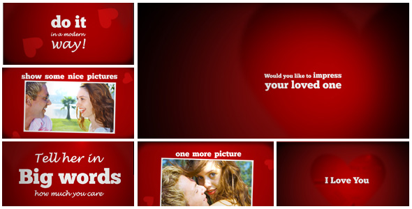 Expresso Typo-valentine - videohive template by ExpressoDesign