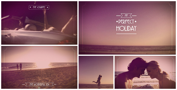Expresso My Perfect Holiday - videohive template by ExpressoDesign
