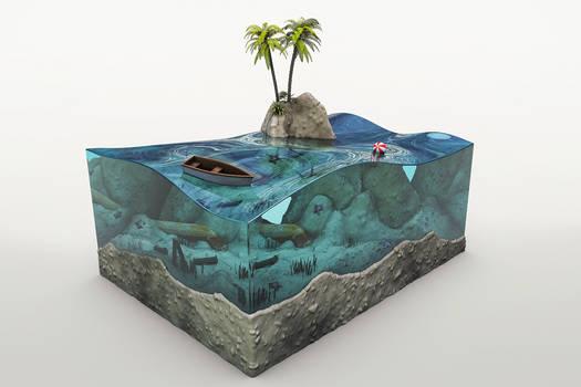 C4D - Aquarium