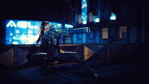 [DAZ3D] - Ronya - The Sniper by PSK-Photo