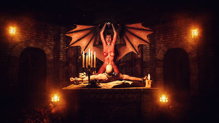 [DAZ3D] - Succubus - the Ritual by PSK-Photo
