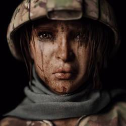[DAZ3D] - War, war never changes by PSK-Photo