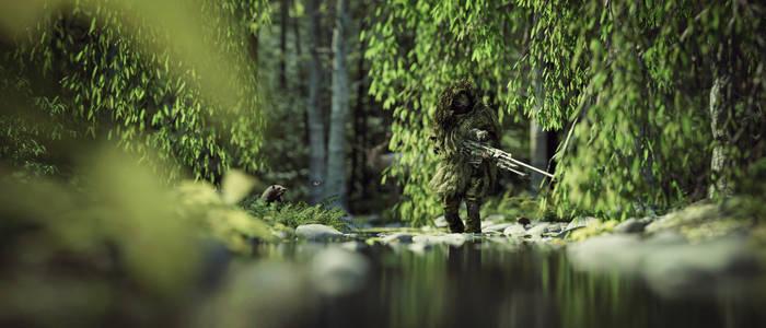 [DAZ3D] -  Sniper