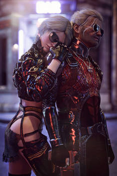 [DAZ3D] - Witcher meets Cyberpunk [1]