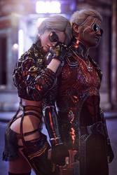 [DAZ3D] - Witcher meets Cyberpunk [1] by PSK-Photo