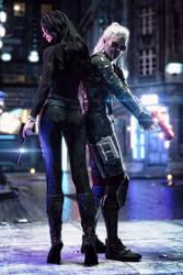 [DAZ3D] - Witcher meets Cyberpunk [3]