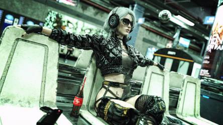 [DAZ3D] - Witcher meets Cyberpunk [4]