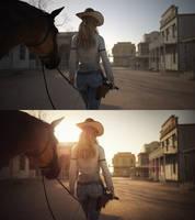 [DAZ3D] - BTS - Cowgirl