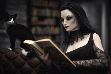 [DAZ3D] - Read a book