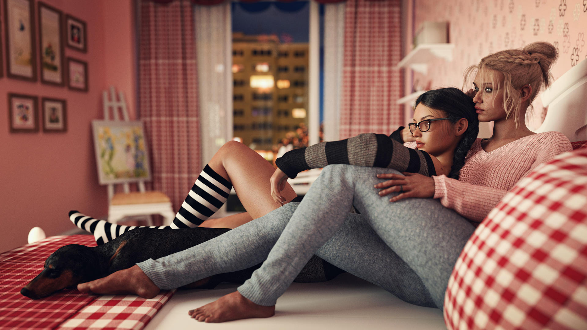 [DAZ3D] - Cozy weekend