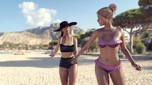 [DAZ3D] - Beach