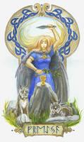 Freyja by Relotixke