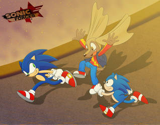 Sonic Forces with Animon by Pennyadodumuss