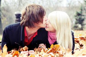 Autumn love by johnberd