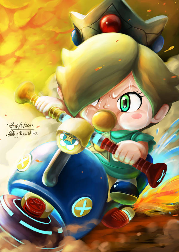 Baby Rosalina [My Charater on Mario Kart 8 Online] by ...