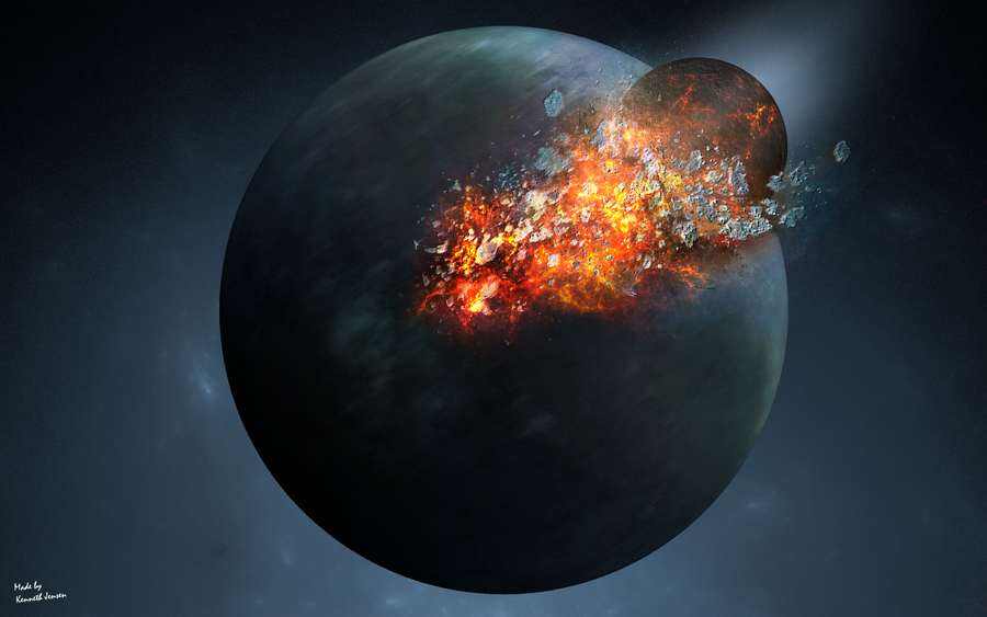 Planet's Rotation by KennethJensen on DeviantArt