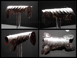 Fenrisulfr Barding Armour by aurora-boredomalis