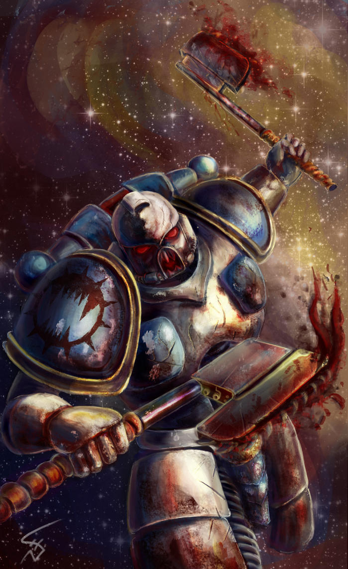 [W30K] Legiones Astartes XII : World Eaters - Page 2 World_eater_by_thenixeon-d66jndo
