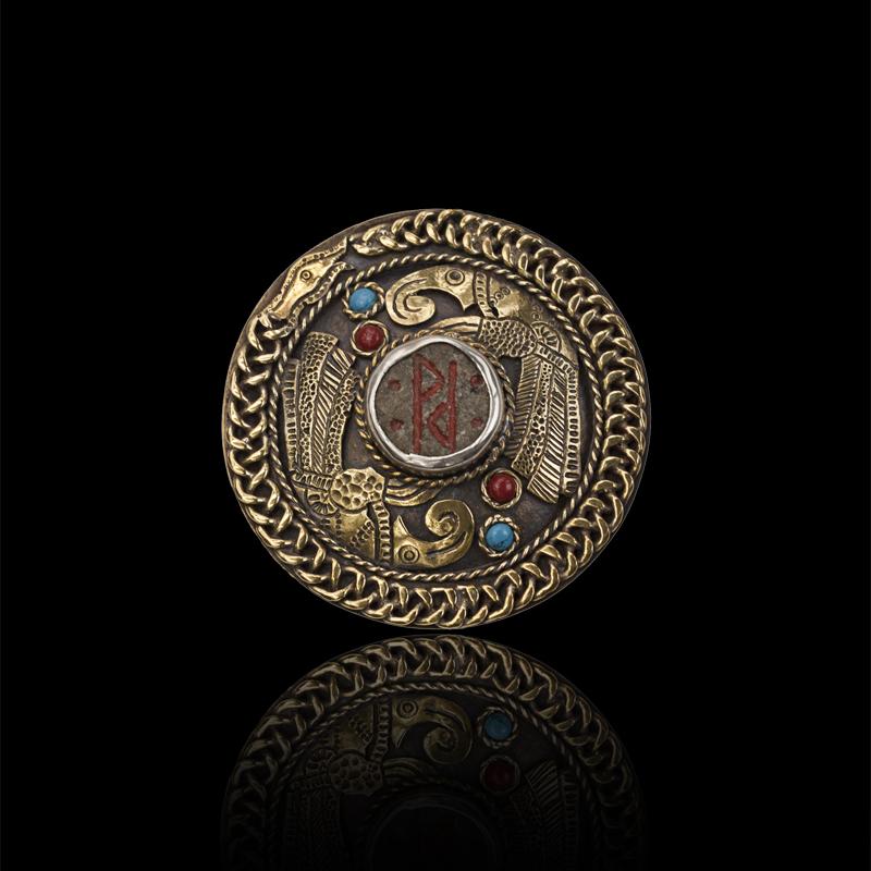 Viking Brooch By Peixeart