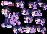 Twilight Sparkle - Pony/Human by Trinityinyang