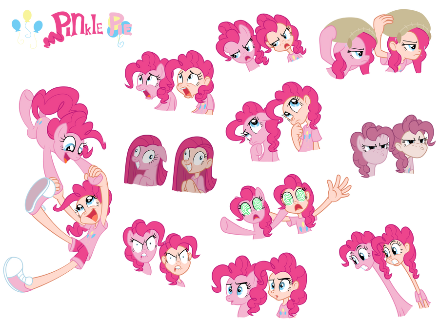 Pinkie Pie Pony Human By Trinityinyang On Deviantart