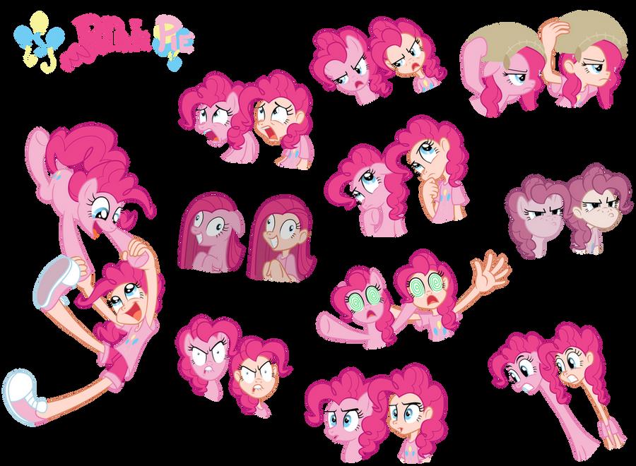 Pinkie Pie - Pony/ Human by Trinityinyang