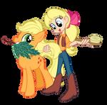 My Little Pony - Applejack and Megan