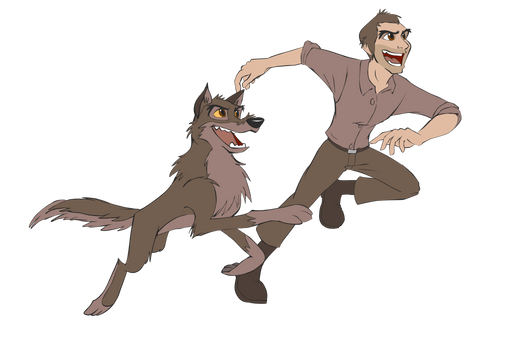 Balto (Wolf Hybrid/ Human)