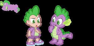 Spike - Dragon/ Human