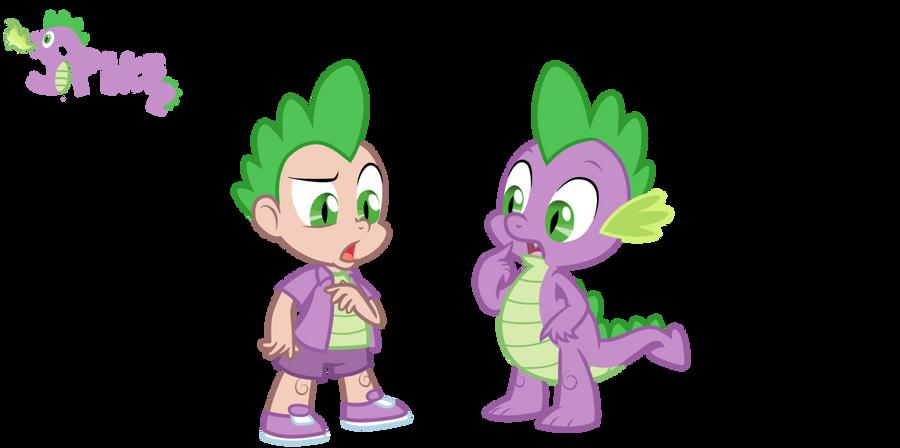 Spike - Dragon/ Human by Trinityinyang