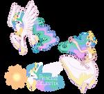 Princess Celestia - Pony/ Human