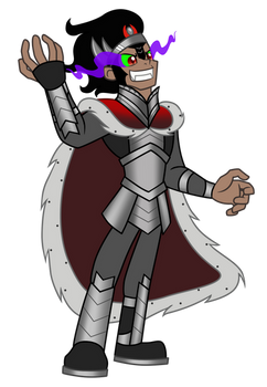 King Sombra (Human) by Trinityinyang