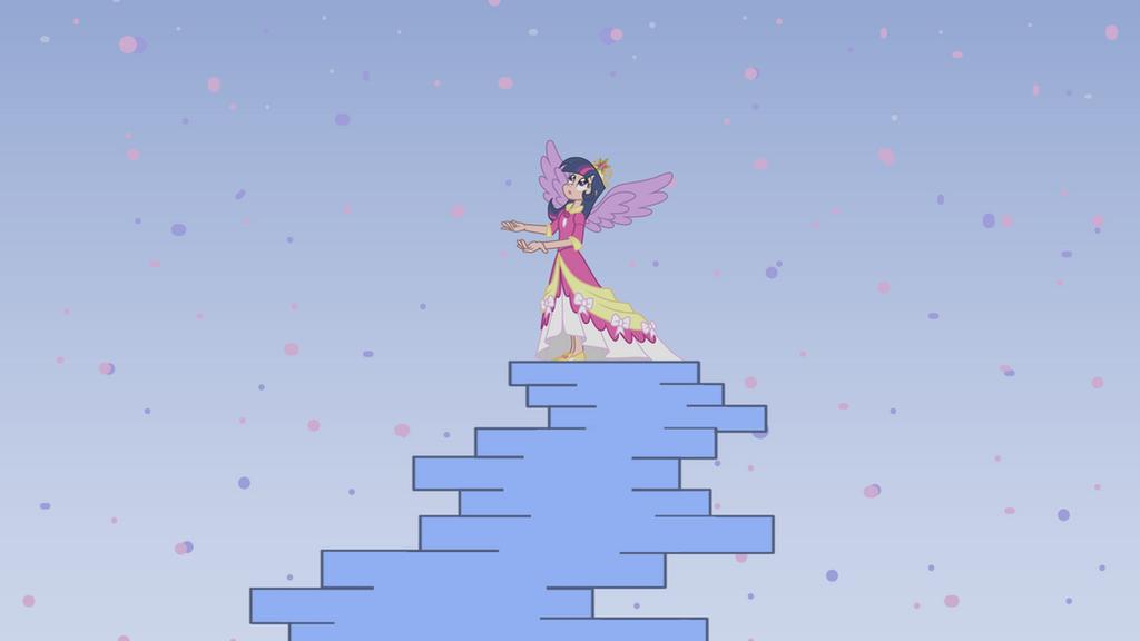 Princess Twilight Sparkle (Human) - Platinum by Trinityinyang